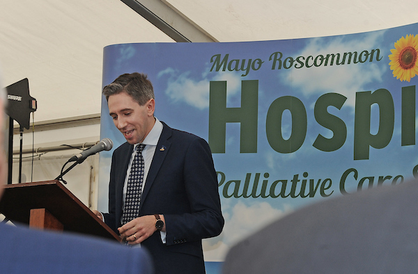 Historic Day as Mayo Roscommon Hospice Foundation celebrates Official Opening of Mayo Hospice  Minister Simon Harris officially opened the new Mayo Hospice in Castlebar on Friday afternoon October 18th 2019.    The Foundation has been in existence since 1993 and has funded palliative care services in community, hospitals and nursing homes to the people of Mayo and Roscommon, in partnership with the HSE since then. The dream of the Foundation was always to build a Palliative Care Centre in each county and October 18th saw that dream realised in one of the two counties, with plans for the Roscommon Hospice at an advanced stage.  Minister for Health Simon Harris TD speaking at the official opening of the Mayo Roscommon Hospice in Castlebar. Pic Conor McKeown
