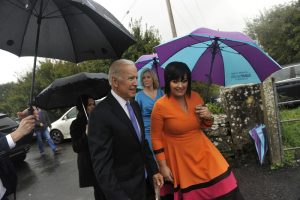 Joe Biden & Martina Jennings