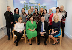 Historic Day as Mayo Roscommon Hospice Foundation celebrates Official Opening of Mayo Hospice  Minister Simon Harris officially opened the new Mayo Hospice in Castlebar on Friday afternoon October 18th 2019.    The Foundation has been in existence since 1993 and has funded palliative care services in community, hospitals and nursing homes to the people of Mayo and Roscommon, in partnership with the HSE since then. The dream of the Foundation was always to build a Palliative Care Centre in each county and October 18th saw that dream realised in one of the two counties, with plans for the Roscommon Hospice at an advanced stage.  Martina Jennings, CEO of Mayo Roscommon Hospice Foundation, Minister for Health Simon Harris TD, Joanne Hynes, Chairperson of Mayo Roscommon Foundation,