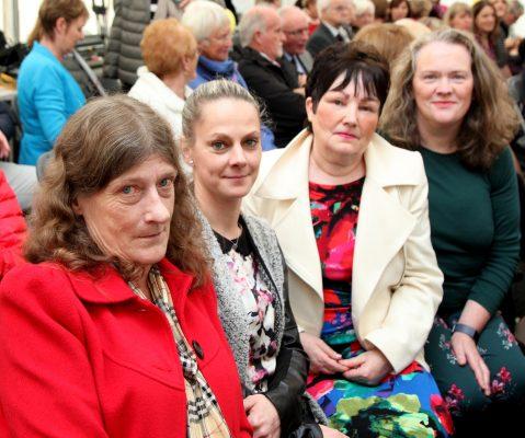 Margaret Deehan, Kasia Sokolowska, Marie O'Connor and Elizabeth Fair(Ballina Hospice).