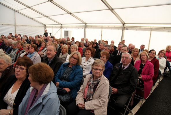 Some of the crowd at the Mayo Hospice Launch