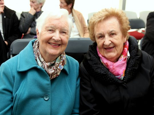 Peggy Conroy(Ballyglass) and Nancy Shannon(Kiltimagh). Pic:Trish Forde