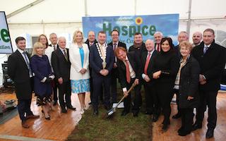 Sod-turning of Roscommon Hospice